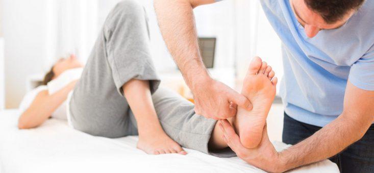 درمان خستگی پاها